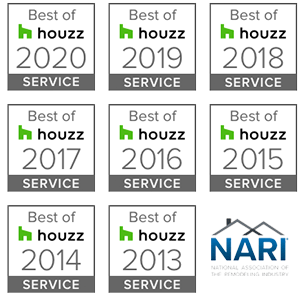 Village Construction won 'Best of Houzz' 7 Years in a Row